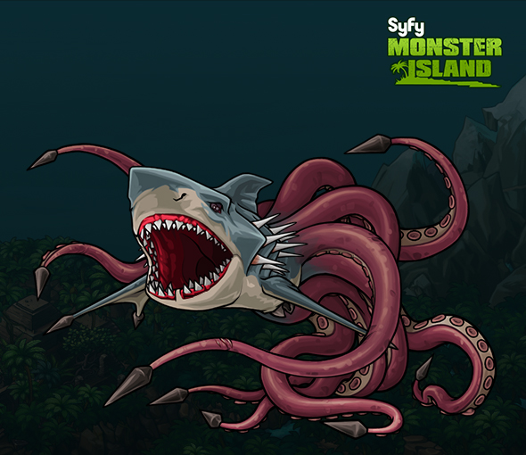 20 Sharktopus 3d Pictures and Ideas on Carver Museum